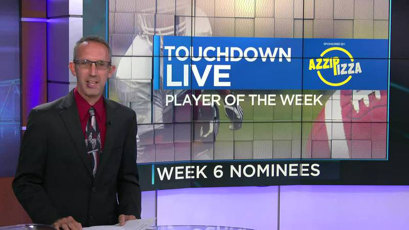 Week 6 - Touchdown Live Player of the Week nominees
