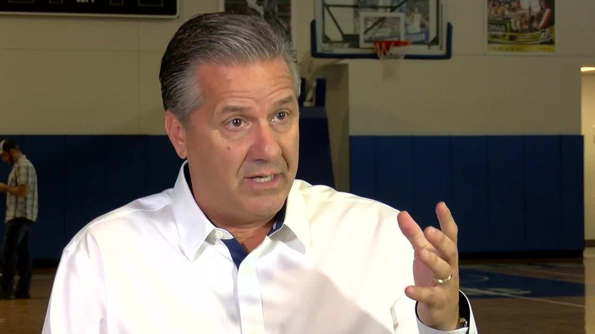 UK Basketball Head Coach John Calipari