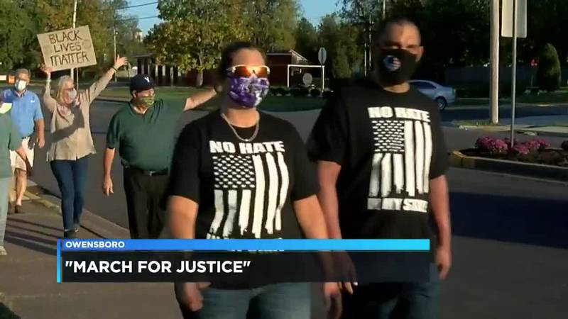 Owensboro BLM marches for 'National Day of Justice'