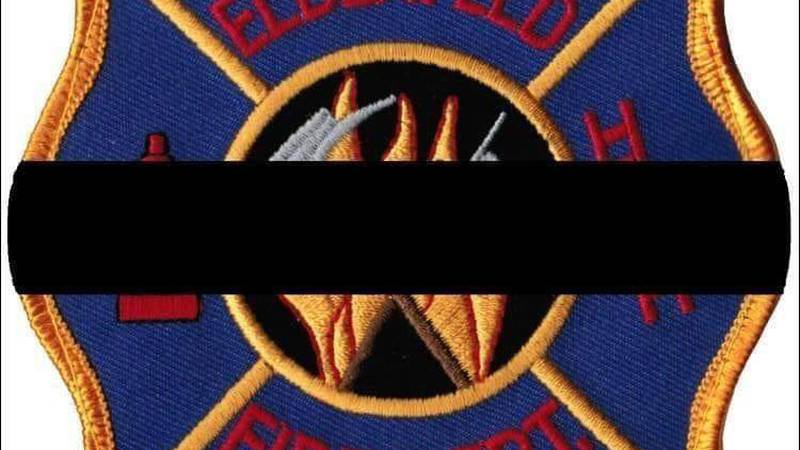 The Elberfeld Fire Department says one of their firefighters died on Saturday morning.