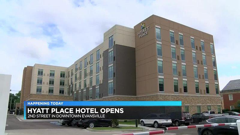 Hyatt Place Hotel opens in downtown Evansville