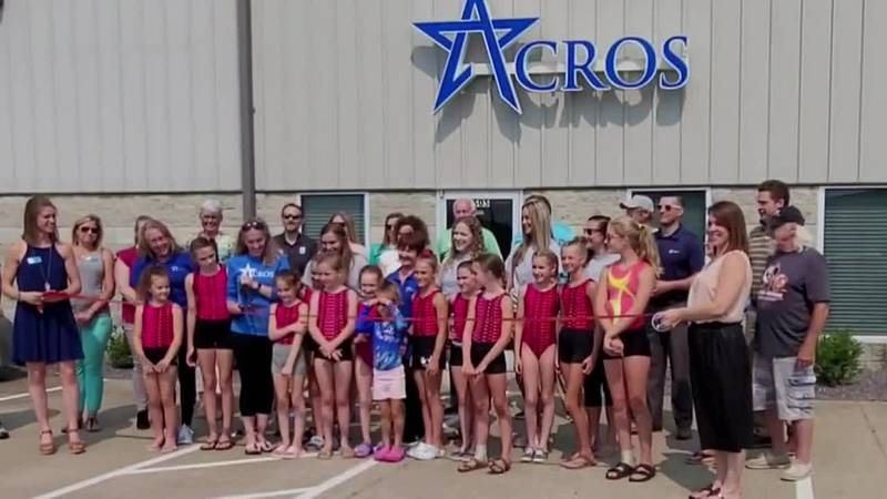 Acros Gymnastics sees surge in sign-ups during Olympic year