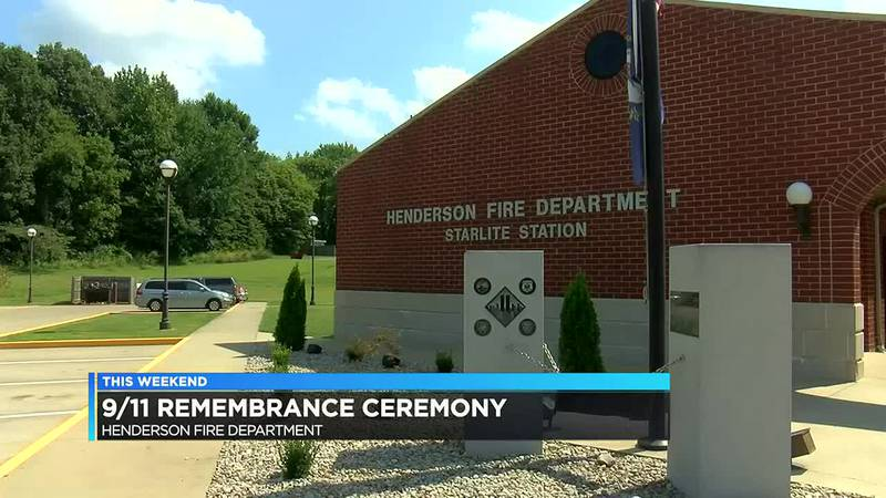 Henderson Fire Department set for its 9/11 remembrance ceremony.