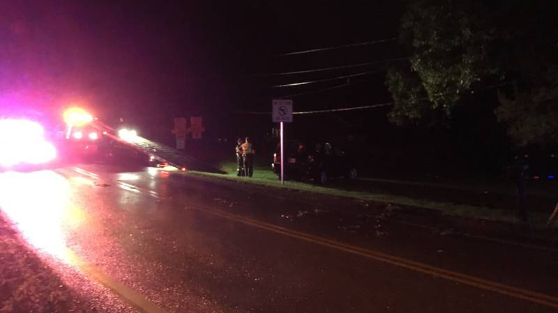 The intersection of Darmstadt Road and Mohr Road in Vanderburgh County is temporarily closed...