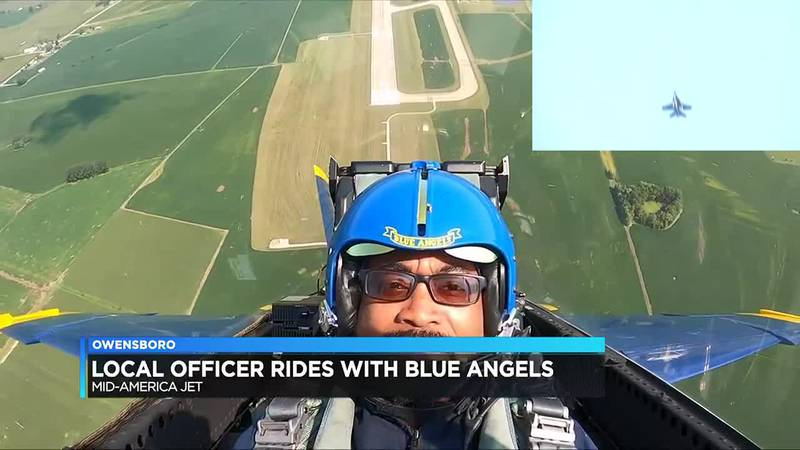 Owensboro resident flies jet with the Blue Angels
