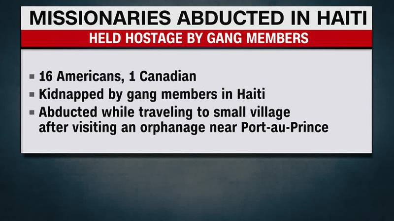 The missing, who were with a U.S.-based missionary group, were reportedly abducted by a gang...