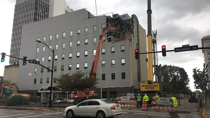 Sycamore building demo