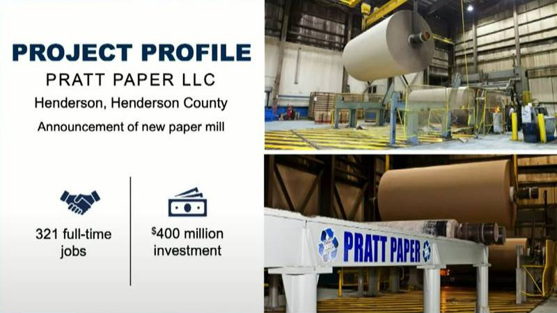 Paper Mill coming to Henderson
