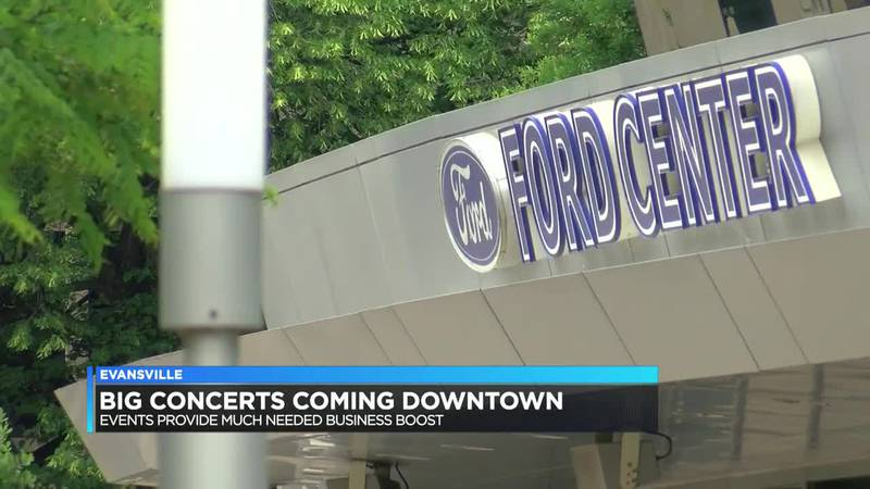 Ford Center concerts could bring big economic boost to downtown businesses