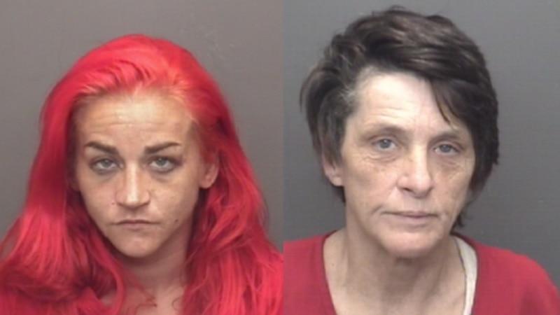Left: Abbeymay Strange. Right: Agnes Miles.