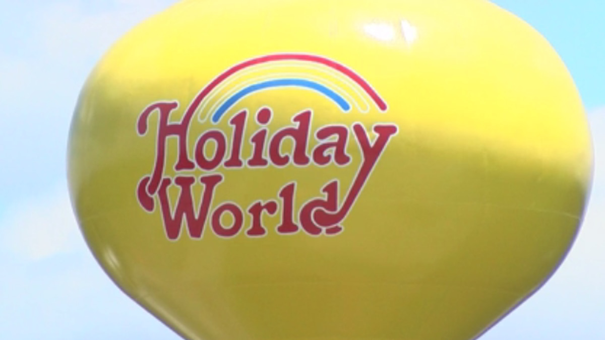 A woman was airlifted from Holiday World to an Evansville hospital on Friday when park...