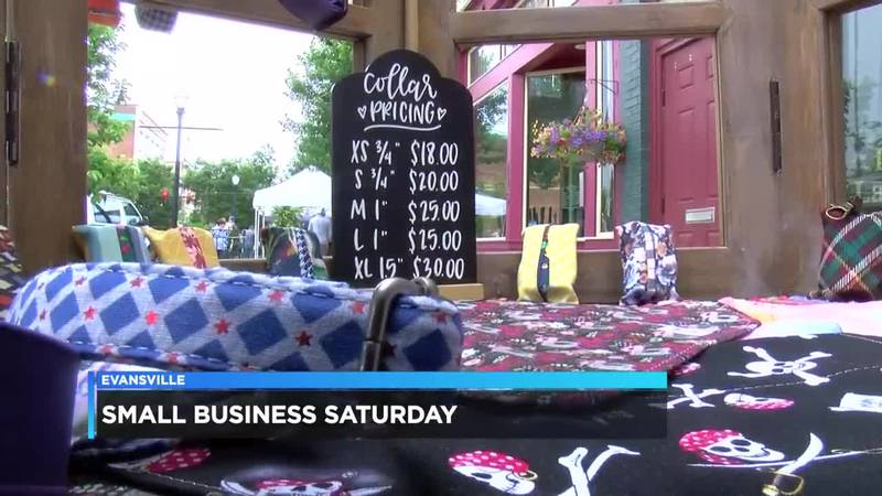'Small Business Saturday' held on Evansville's Main Street
