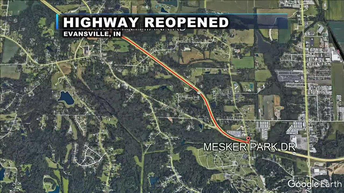 Highway reopened after fatal car crash