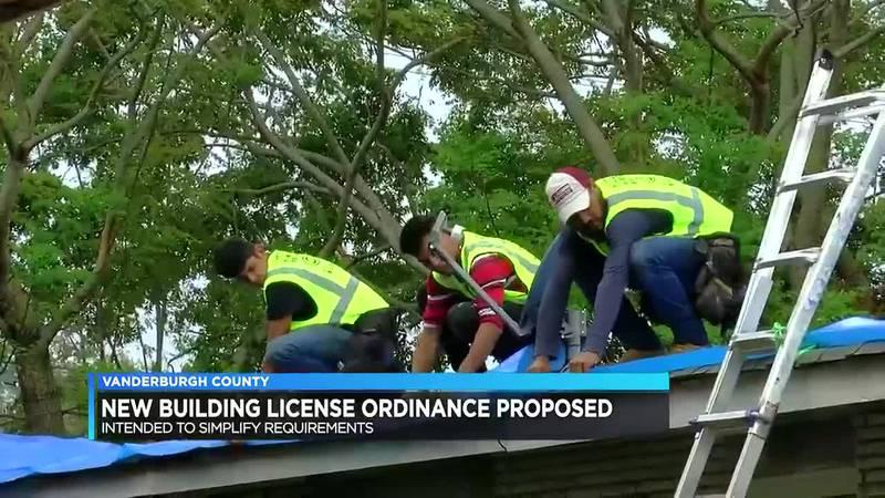 New building license ordinance proposed in Vanderburgh Co.