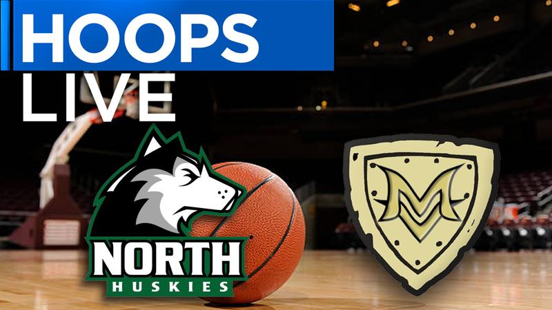 North vs. Mount Vernon boys basketball highlights.