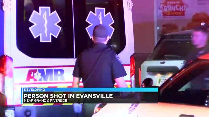 Person shot overnight in Evansville