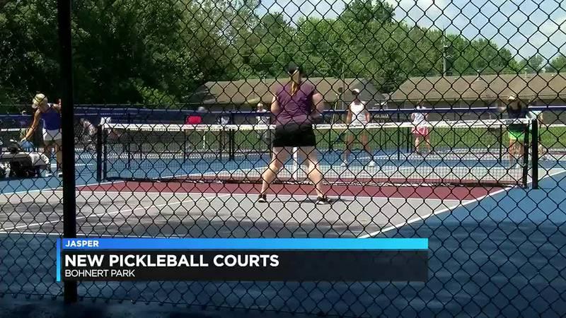 Jasper gets new pickleball courts