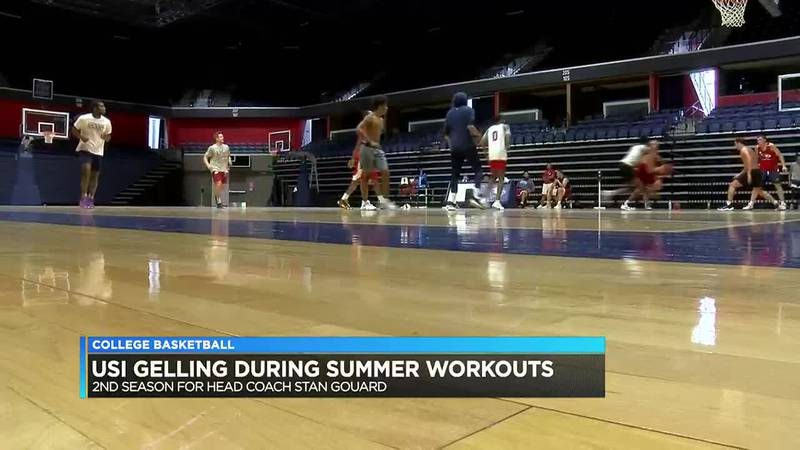 Summer workouts crucial for USI basketball to build team chemistry