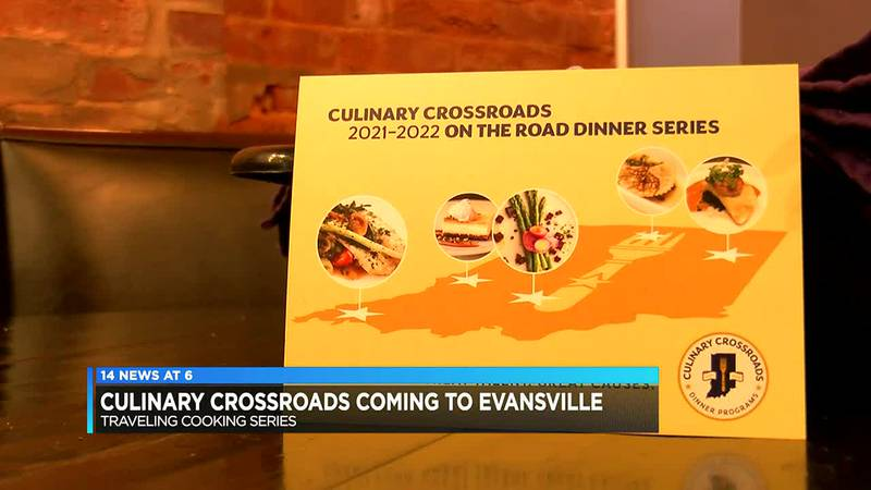 Culinary Crossroads event featuring several Evansville chefs