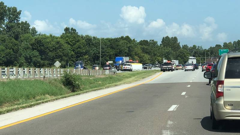 Car crash on Highway 41