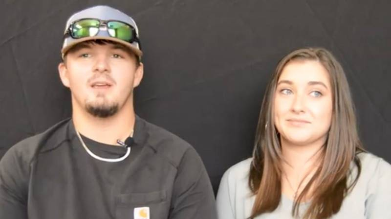 Isaiah Dennis, 21, and his wife, Abby, 19, shared their story of what the couple went through...