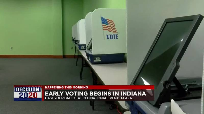 Early voting starts Tuesday in Indiana.