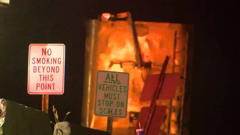 Dispatch: Crews respond to fire at Henderson landfill