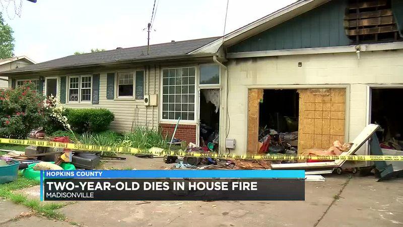 Toddler killed in Madisonville fire