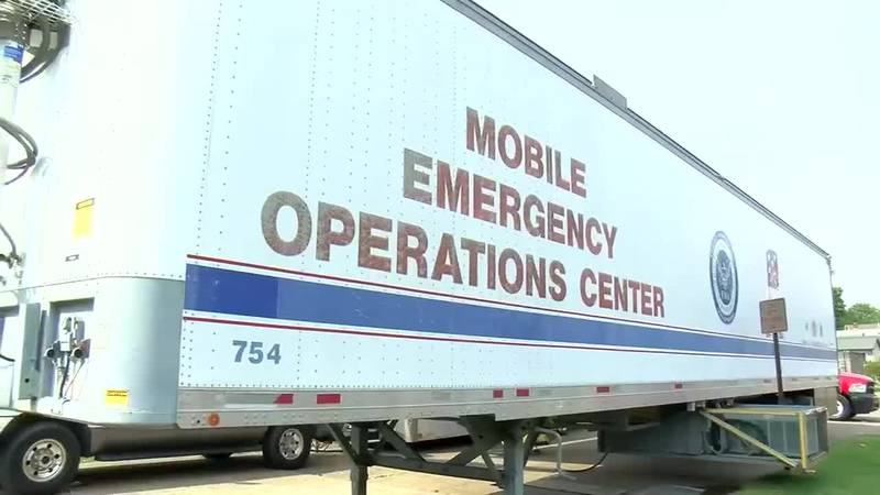 EMA mobile command center keeping an 'eye' on Fall Festival