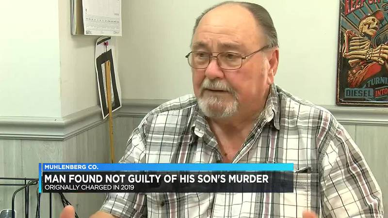 Greenville man found not guilty of son's murder