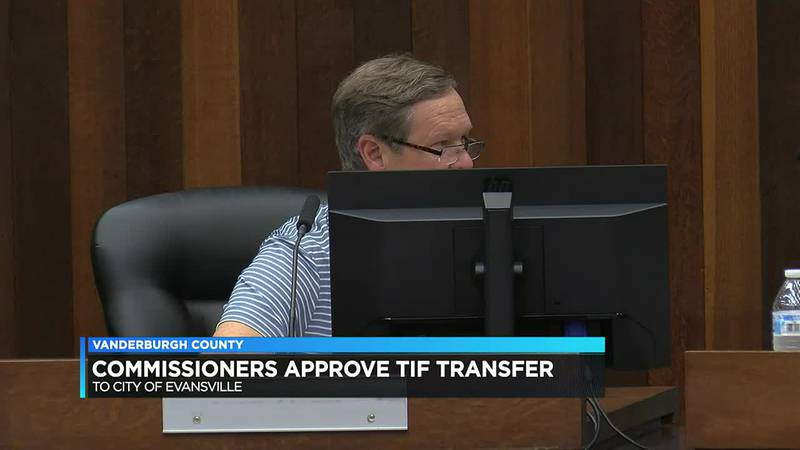 Commissioners approve TIF transfer to the city of Evansville