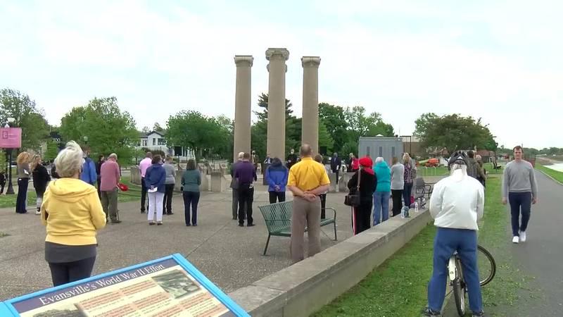 Faith leaders in Evansville observe 'Day of Prayer'
