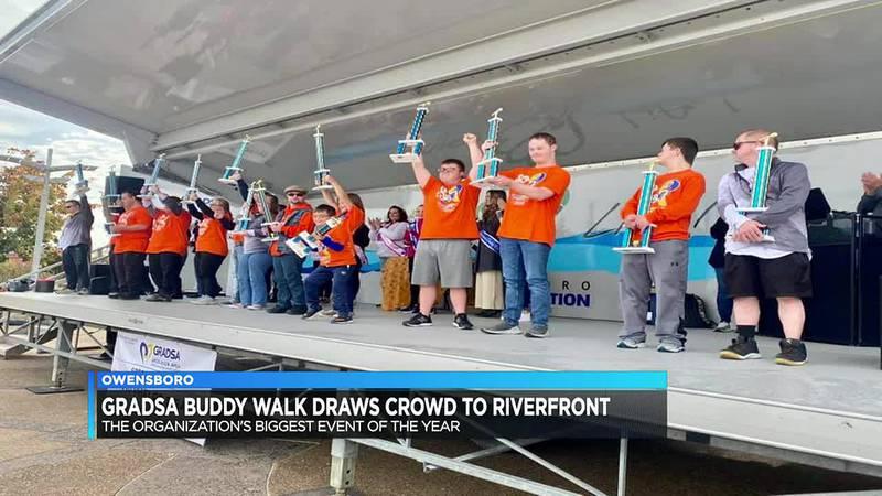 GRADSA Buddy Walk draws crowd to Owensboro riverfront