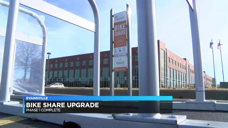 Phase 1 in Evansville bike share upgrade is completed