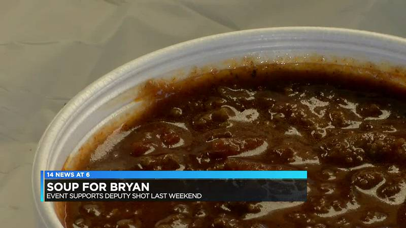 'Soup for Bryan' event raises money for Posey Co. deputy shot last weekend