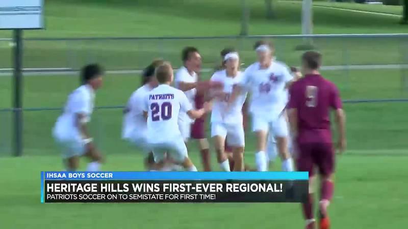Heritage Hills boys soccer semistate bound after winning first regional title