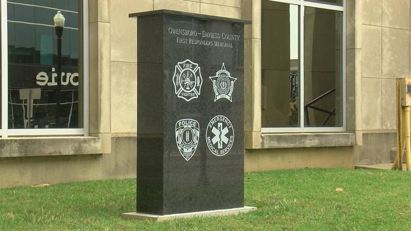 Members of the community gathered to salute first responders. A memorial was dedicated to those...