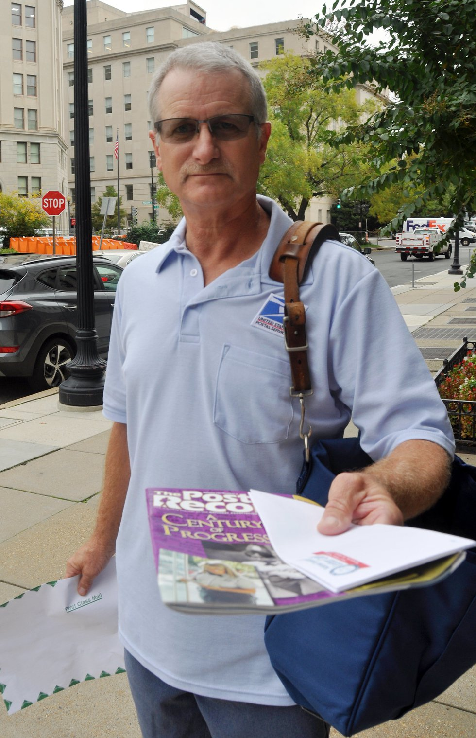 The National Association of Letter Carriers selected Mark Schuh, who works in Princeton, as one...