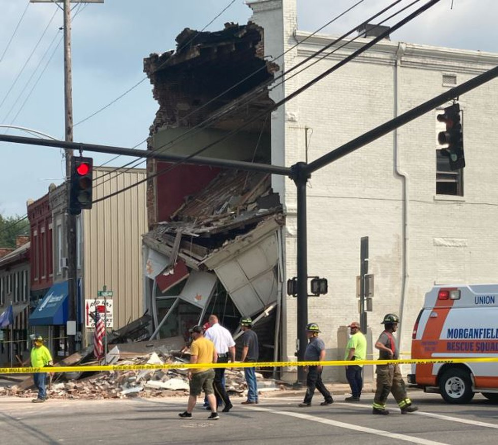 Morganfield building collapse
