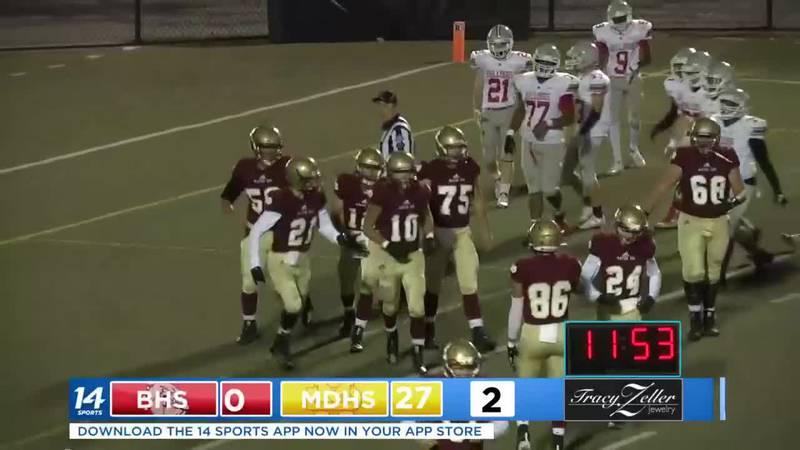 Bosse vs. Mater Dei Second Quarter