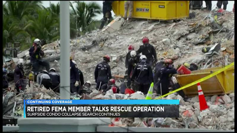 Ind. FEMA team joins condo collapse efforts