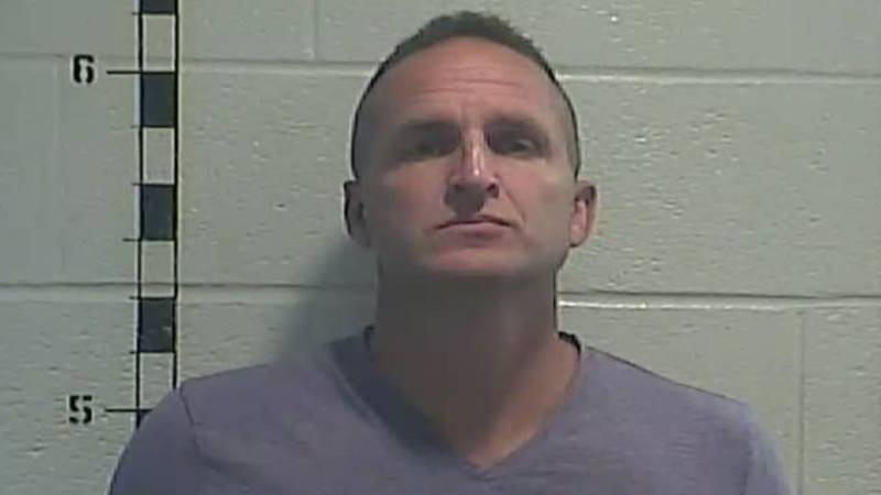 Former Det. Brett Hankison was booked into the Shelby County Detention Center, then released,...