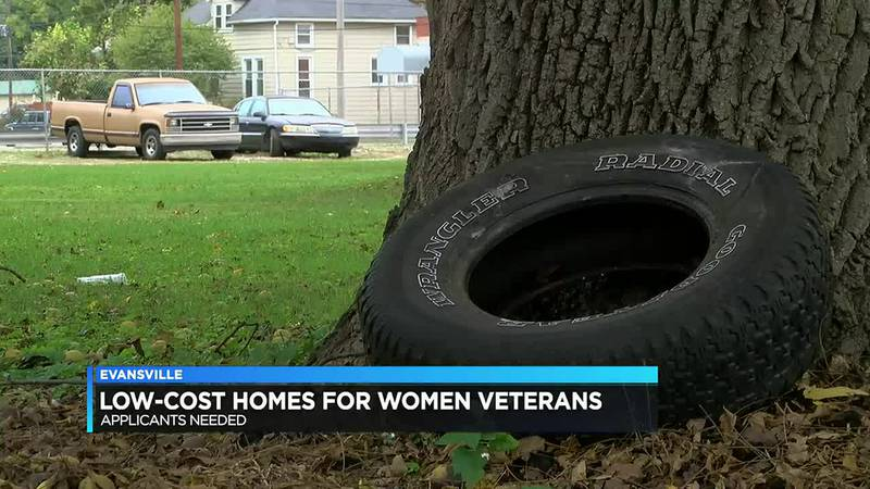 Applicants needed for low-cost homes in Evansville for women veterans