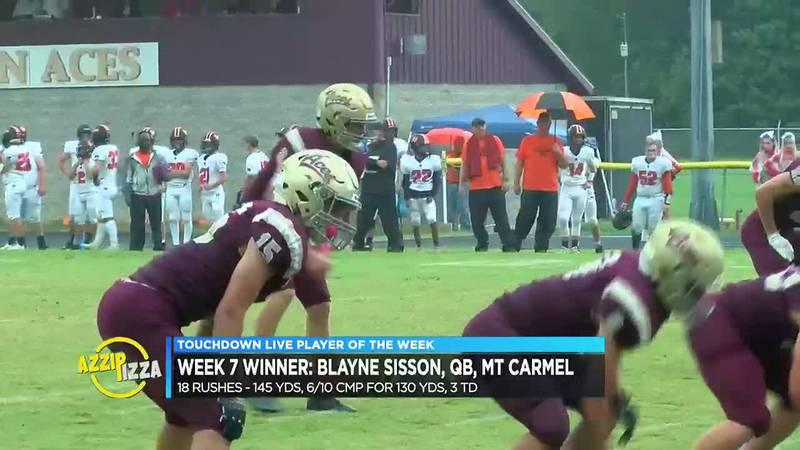 Mt. Carmel QB Blayne Sisson crowned Touchdown Live POTW following explosive dual-threat...