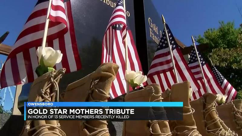 Gold Star mothers in Owensboro honor 13 service members killed in Afghanistan bombings