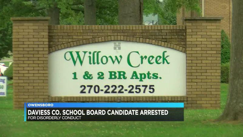 Daviess Co. School Board candidate arrested