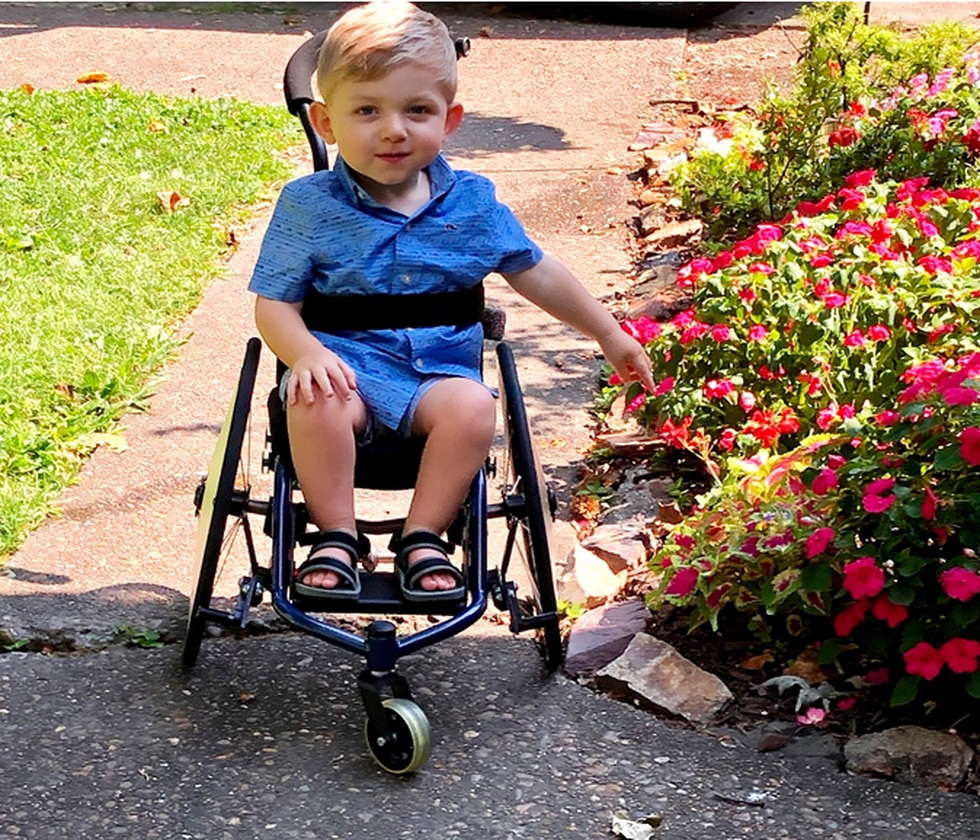 Jackson Schultheis has spinal muscular atrophy and needs a $2 million drug to stop it's...