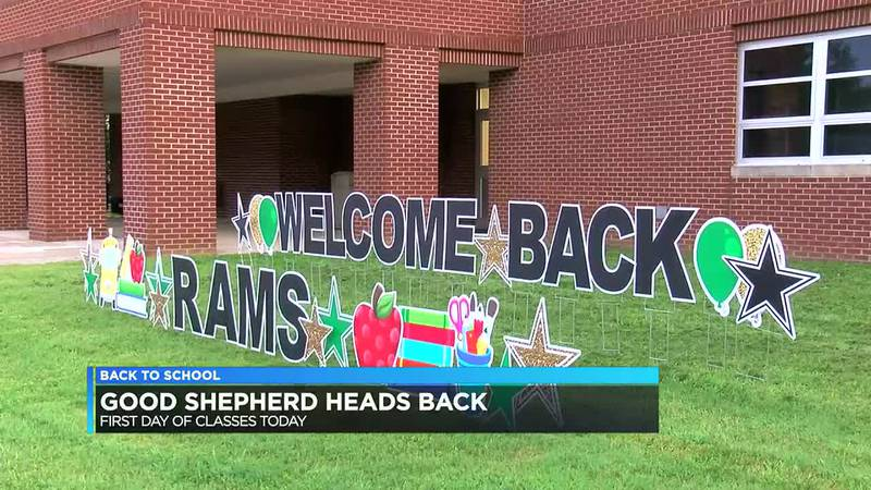 Good Shepherd, several other diocese schools returning to class.
