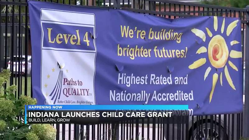 Indiana launches $540 million grant to help child care providers