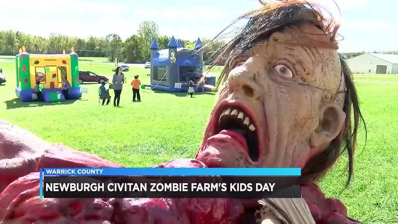 Children, families take part in Halloween festivities at Newburgh Civitan Zombie Farm